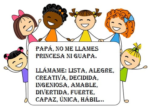 330 virtudes de tu hija: cómo evitar llamarla «mi princesa»